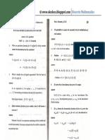 Discrete Math 3[Nov Dec 2007]