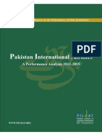PakistanInternationalAirlines APerformanceAnalyses 2013-2015