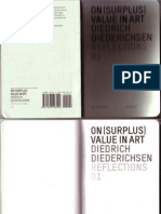 DIEDRICHSEN-On Surplus Value in Art