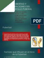 PUBERTAD Y ALTERACIONES DEL DESARROLLO PUBERAL