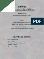 PPT Referat - Spondilitis TB (RSAL) -