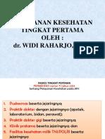 Materi Seminar Pelayanan Kesehatan Tingkat Pertama9