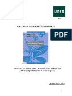 Historia Antigua de La Península Ibérica II - Resumen Temas I-XII. Pánfilo
