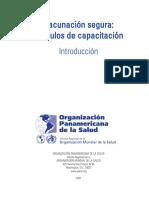 Vacunacion Segura Modulos de Capacitacion OPS 2007