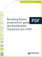 Guide for Rooming House Proprietors
