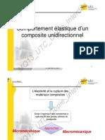 Mécanique composites unidirectionnels
