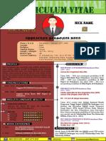 contoh CV New