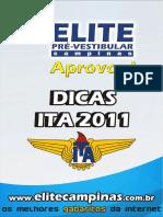 Dicas ITA 2011 Elite Campinas
