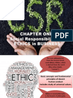 Social Responsibility and Ethics in Business