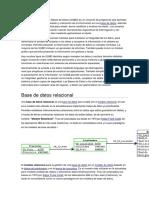 Un Sistema de Gestión de Bases de Datos