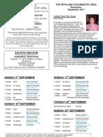 petra newsletter