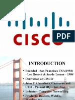 Cisco Final Ppt