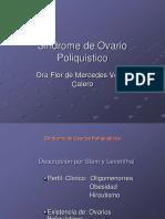 SEMINARIO E4. Ovartio Poliquistico. Dra. Flor Vento.2016 (1)