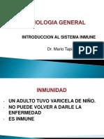 Clase Introduccion Al Sistema Inmune 2017