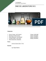 Informe de Laboratorio n2 Química General