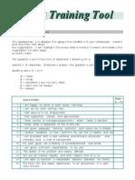 Employee Morale Questionnaire
