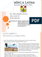 67081740 America Latina Durante La Guerra Fria