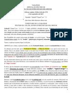 PARASHÁH de Yom Teruah pdf