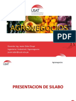 Sesion i - Usat Agronegocios 1