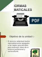 1.-Normas Gramaticales
