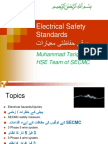 Electrical Safety SECMCحفاظت مقدم    .pptx