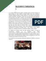 Informe de Revolucion y Violencia