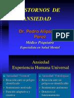 Psiquiatría - Trastornos Ansiedad