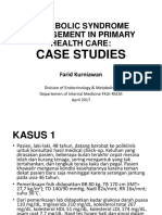 Clinical Case MetS & Dyslipidemia