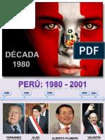 PERÚ 1980 AL 2001