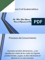 El Proceso Civil Guatemalteco 2017