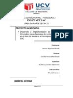 Sistema Informático para el proceso de control de cheques