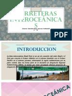CARRETERAS INTEROCEáNICAS