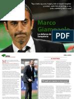 Tactica La Defensa de 4 en Linea de La Sampdoria