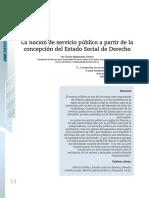 La noción servicio publico concepción Estado Social de derecho.pdf