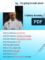 Poyect Famous Person_cr7