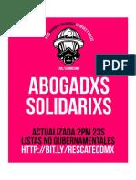 Abogadxs Solidarixs (2pm23s) - Brigadas Solidarias 19S