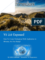 Yii2 Exposed Sample