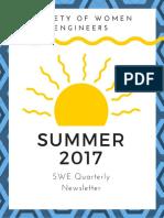 Drexel SWE Summer 2017