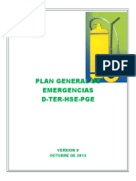 Plan Gral de Emergencias