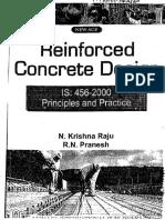 Reinforced Concrete Design-Krishnaraju