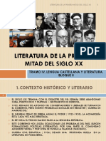 literaturadelaprimeramitaddelsigloxx-130130164111-phpapp01