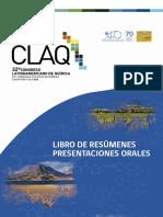 Libro de Resúmenes Presentaciones Orales QLAC
