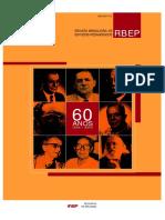 Revista Brasileira de Estudos Pedagógicos (RBEP) - Num 212
