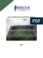 Plan Operativo Institucional Innova