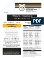 Pittsburgh Steelers At Chicago Bears (Sept. 24, 2017)