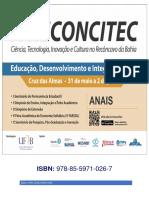 20170801 Anais IV Reconcitec 2017