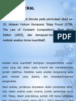 1b - Kimia Mineral