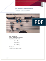 Informe de Diagnosticos y Sistema Hidraulico