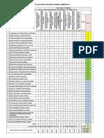 1tabulacion de Evaluacion Diagnostica Modelo Para Las Compañeras