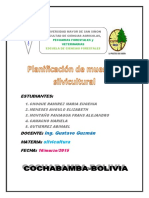 Planificación de Muestreo Silvicultural